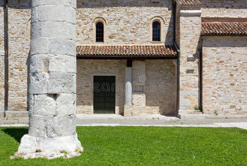 Базилика Aquileia стоковое изображение rf