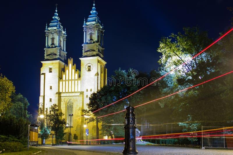 Базилика Archcathedral St Peter и St Paul. Poznan. Польша стоковое изображение rf