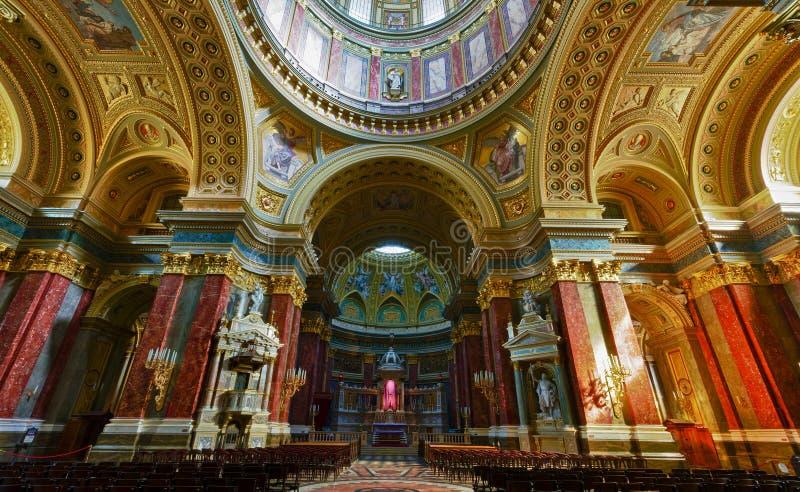 базилика budapest стоковые фотографии rf