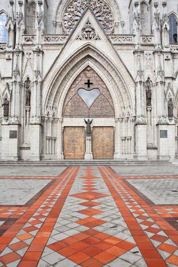 базилика del nacional quito voto стоковые изображения