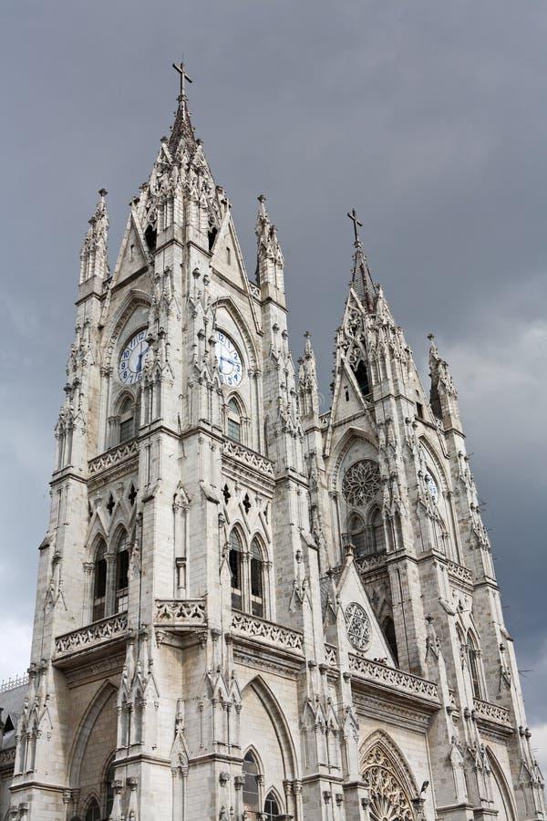 базилика del nacional quito voto стоковое фото rf