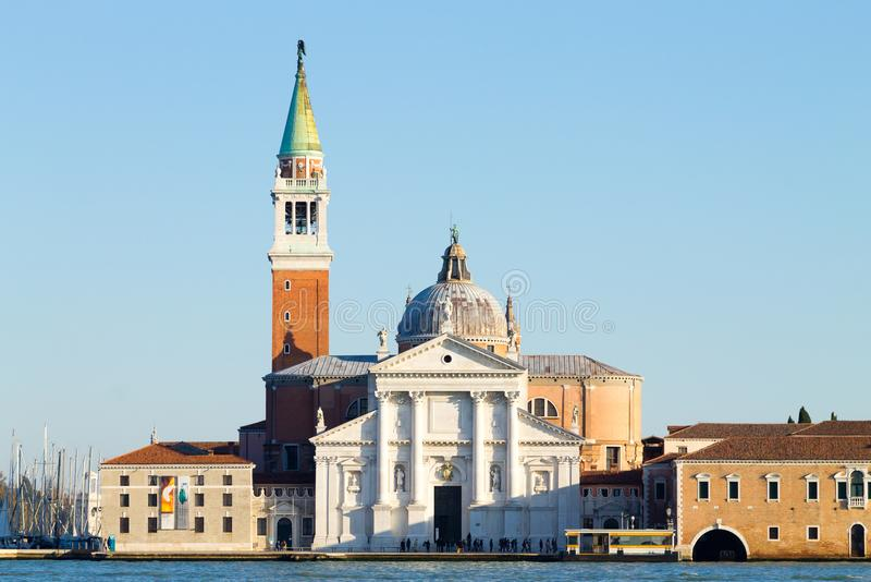 Базилика di Сан Giorgio Maggiore, Венеция, Италия стоковое изображение rf