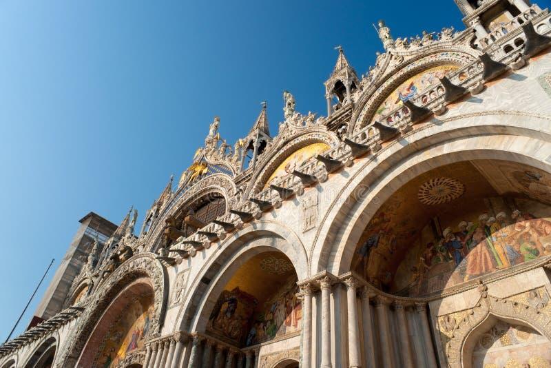 базилика di marco san venice стоковые изображения