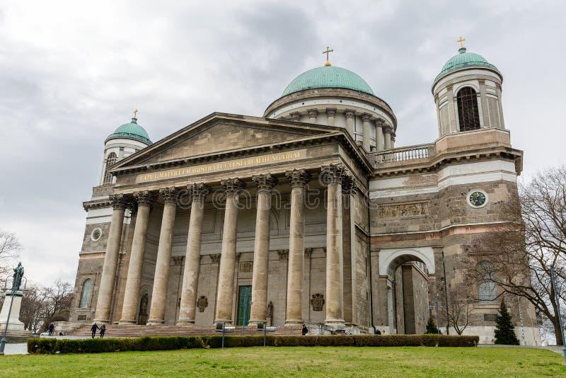 Базилика Esztergom, Венгрии стоковое изображение rf