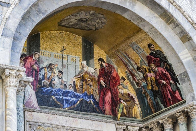 Базилика ` s St Mark в Венеции стоковая фотография