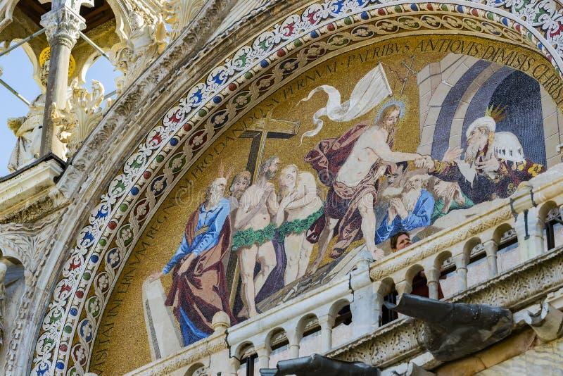 Базилика ` s St Mark в Венеции стоковая фотография rf