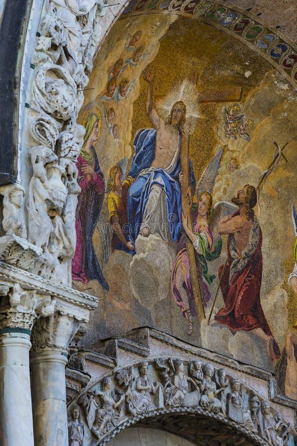 Базилика ` s St Mark в Венеции стоковые фотографии rf