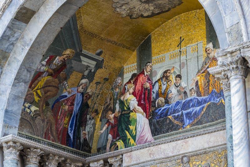 Базилика ` s St Mark в Венеции стоковое фото rf