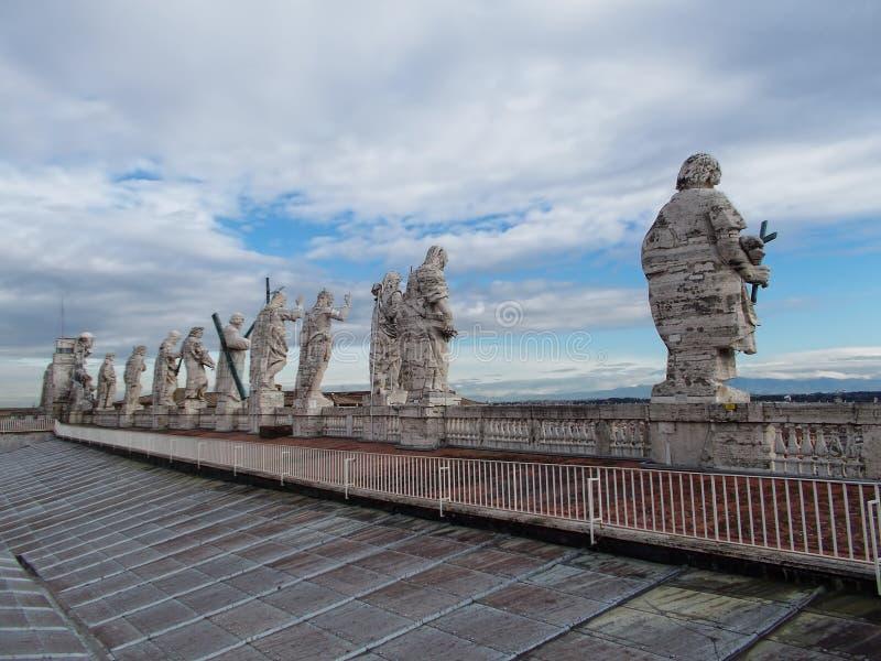 Базилика ` s St Peter стоковое фото rf