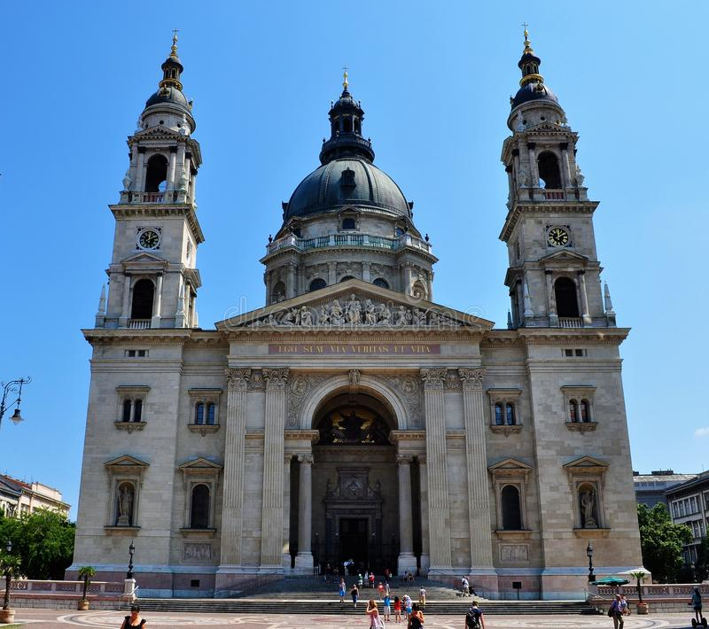 Базилика ` s St Stephen - Будапешт стоковое изображение