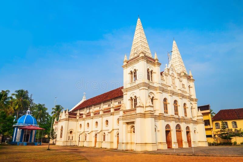 Базилика Santa Cruz в Cochin стоковая фотография