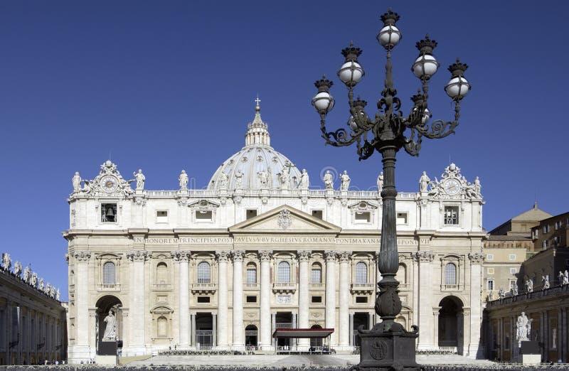 Базилика St. Peters - Ватикан - Рим - Италия стоковая фотография