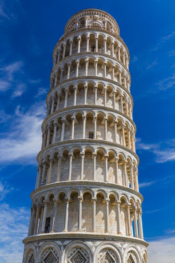 Базилика и башня склонности в Пизе Италии стоковое изображение rf
