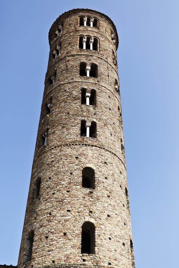 Базилика Равенны Святого Apollinare Nuovo стоковая фотография rf