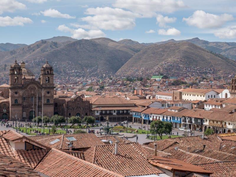 Download Базилика собора предположения девственницы на Cusco, Перу Стоковое Фото - изображение насчитывающей долина, outdoors: 81813026