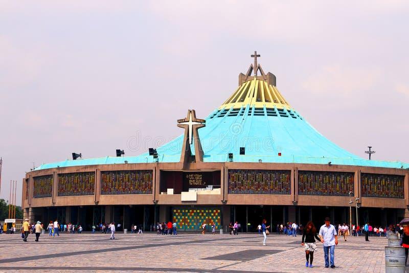 Базилика de Guadalupe v стоковые фото
