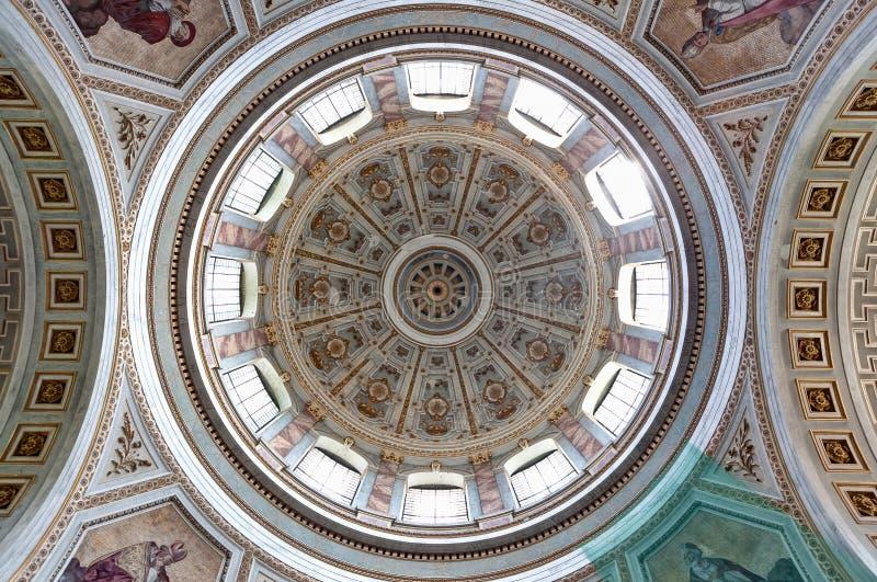 Базилика Esztergom Copula, Венгрия стоковые фотографии rf