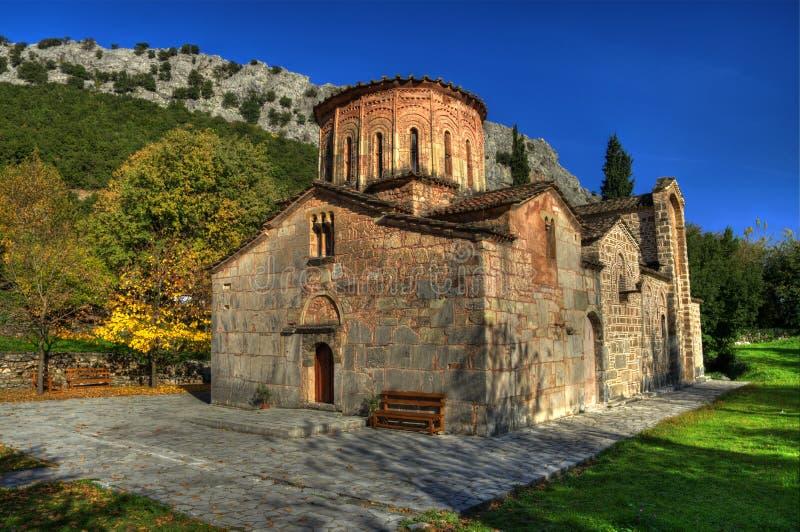 Базилика Porta Panagia около Trikala, Греции стоковые фотографии rf