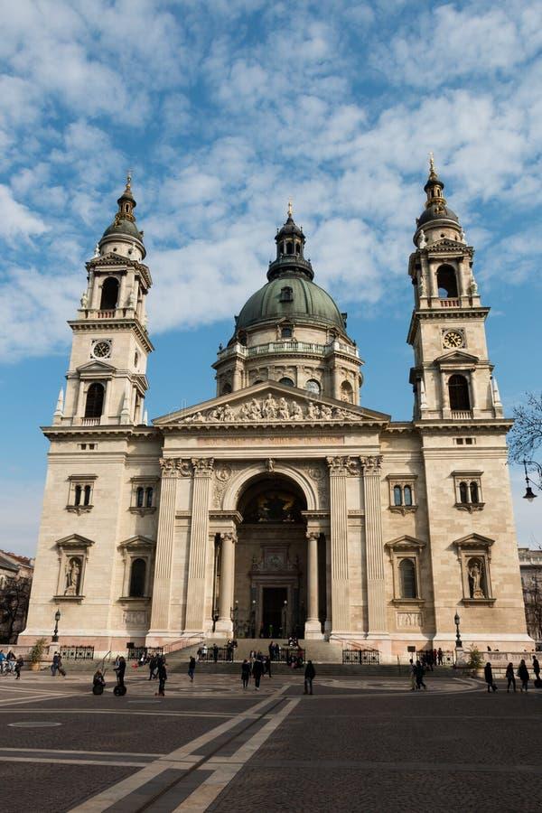 Базилика ` s St Stephen в Будапеште, Венгрии стоковая фотография