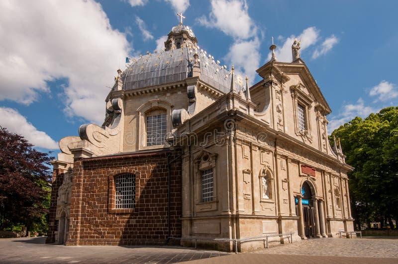 Базилика Scherpenheuvel, Бельгия стоковое фото rf