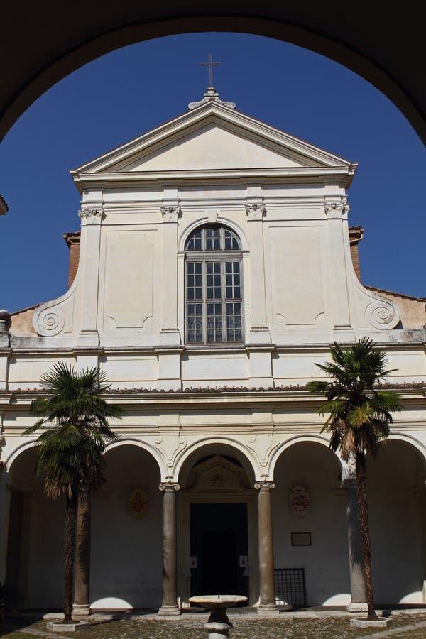 Базилика St Clement стоковая фотография rf