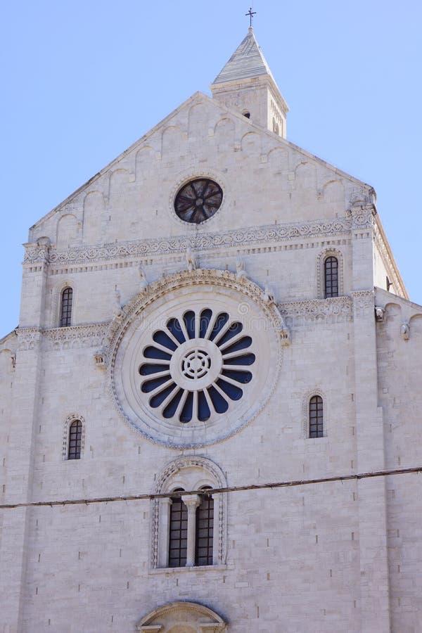 Базилика St Nicholas Бари, Италии стоковое фото