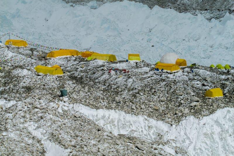 Базовый лагерь Эверест стоковое изображение rf