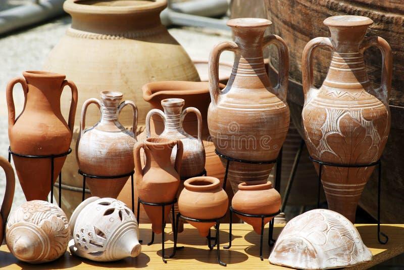 баки глины традиционные стоковые изображения
