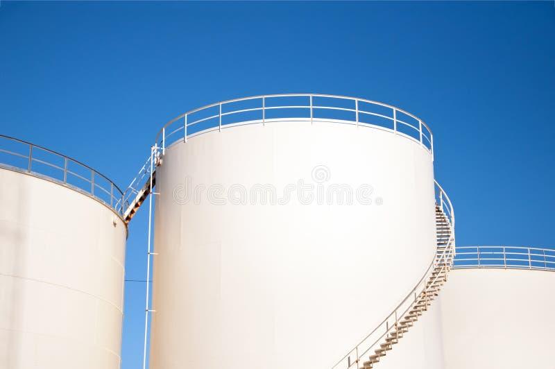 Баки для хранения топлива стоковое фото rf