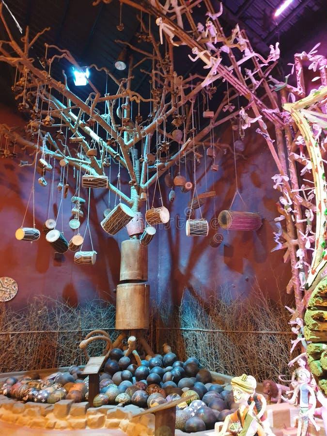 Баки, Damroo, племенное искусство славное, красочное, комбинация, уникальная, изображение стоковые изображения