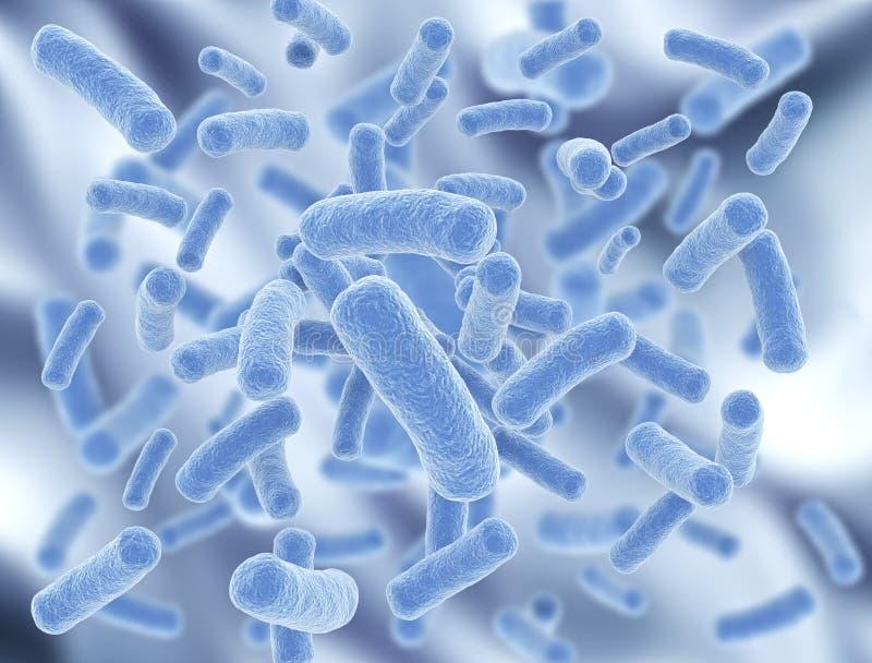 Бактерии иллюстрация штока