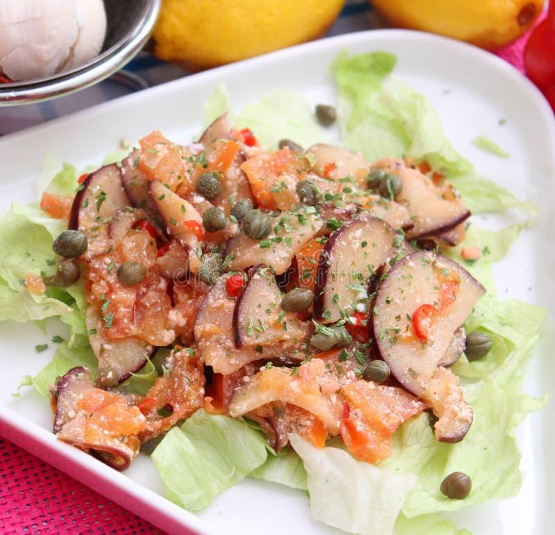 Баклажаны и томаты стоковые фотографии rf
