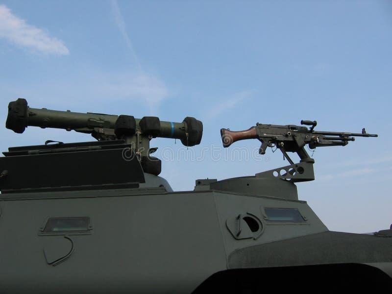 бак воиск машины пушки стоковые фото