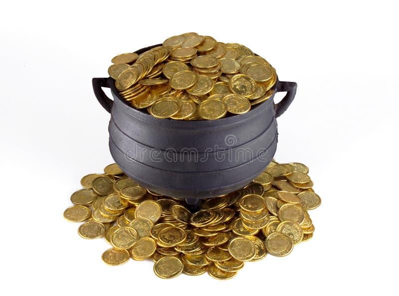 Бак золота стоковые изображения