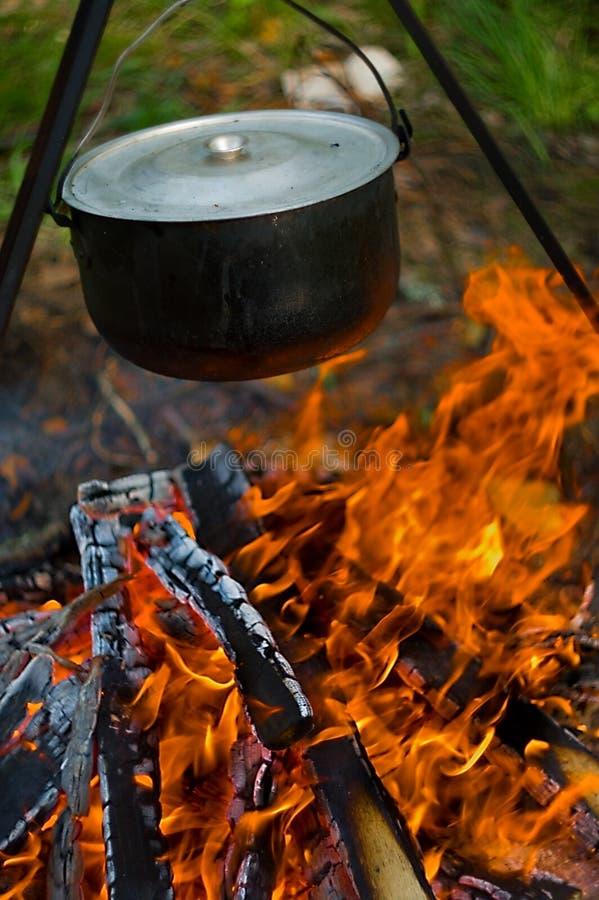 бак пожара стоковое изображение rf
