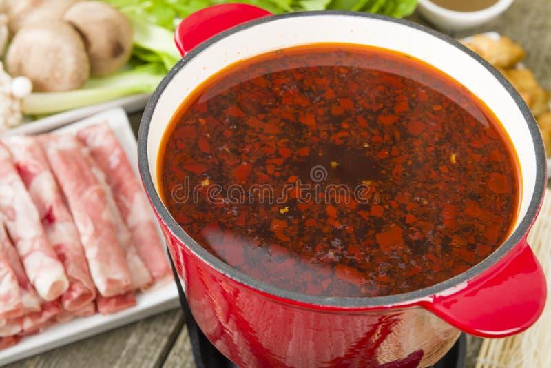 Бак Szechuan горячий стоковое фото