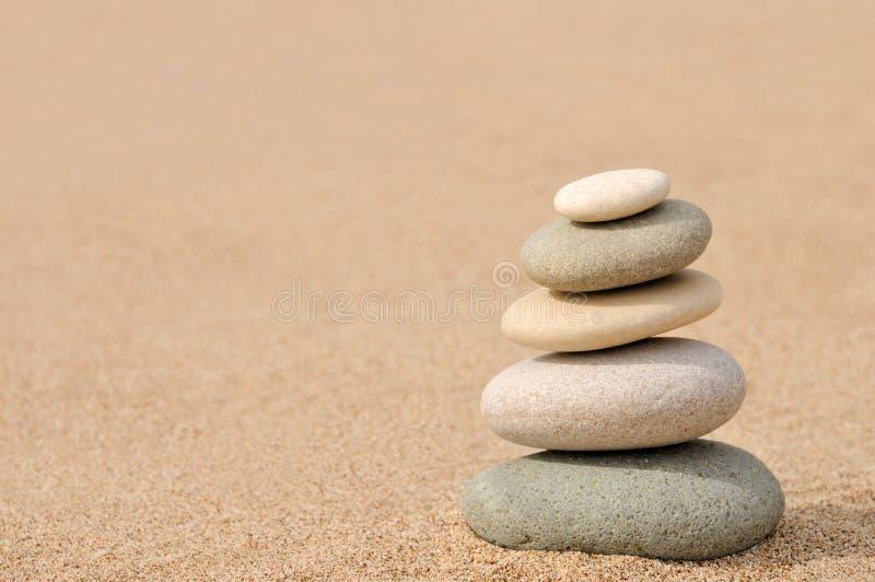 баланс облицовывает Дзэн стоковое изображение rf