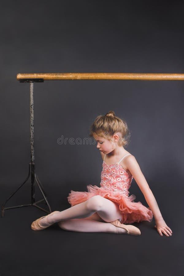 балерина малюсенькая стоковая фотография