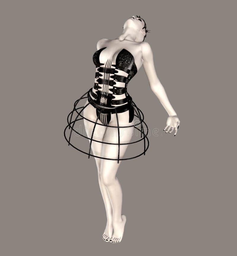 балерина сказовая бесплатная иллюстрация