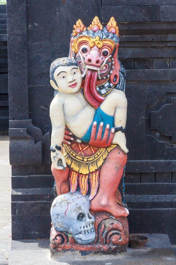 Балийская каменная статуя стоковое фото