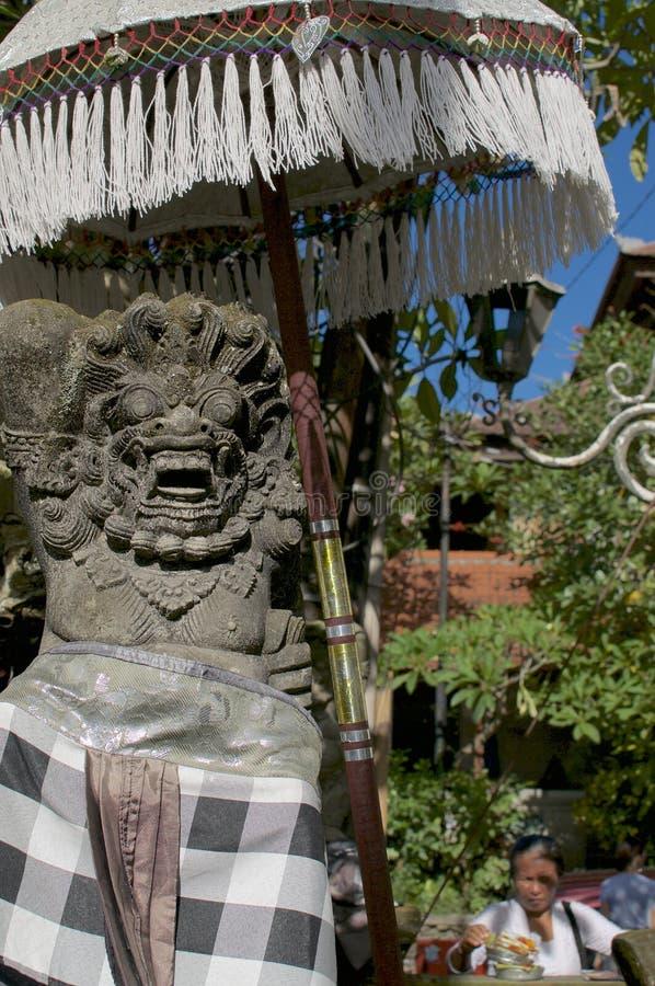 Балийская статуя Bedogol Dwarapala стоковое изображение