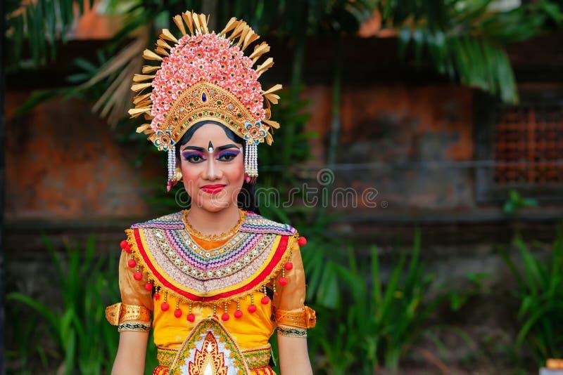 Балийский портрет женщины стоковые изображения