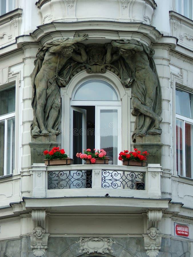 балкон исторический стоковое изображение rf