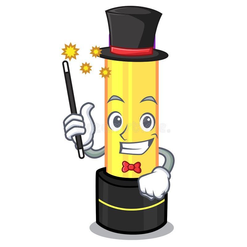 Бальзам губы волшебника в форме мультфильма бесплатная иллюстрация