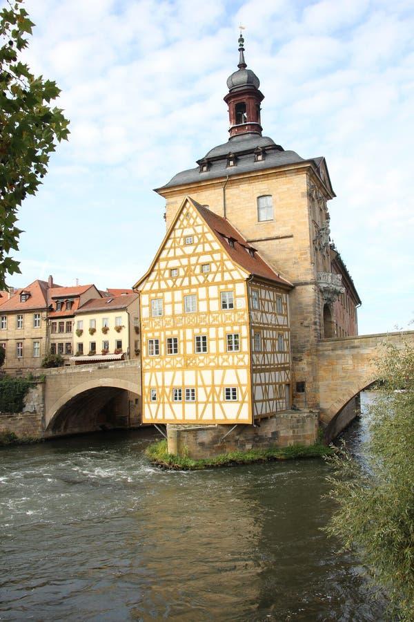 Бамберг Cityhall стоковое фото rf