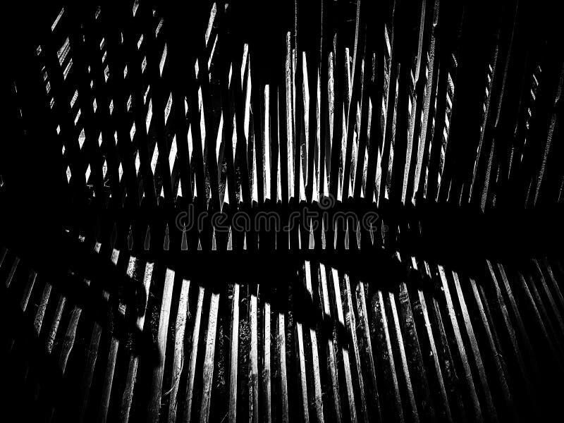 Бамбуковая отрезанная предпосылка текстуры картины стоковое изображение rf