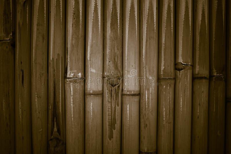 Бамбуковая стена, бамбуковая предпосылка загородки для дома внутренней или внешней designlocal области городского стоковые изображения rf