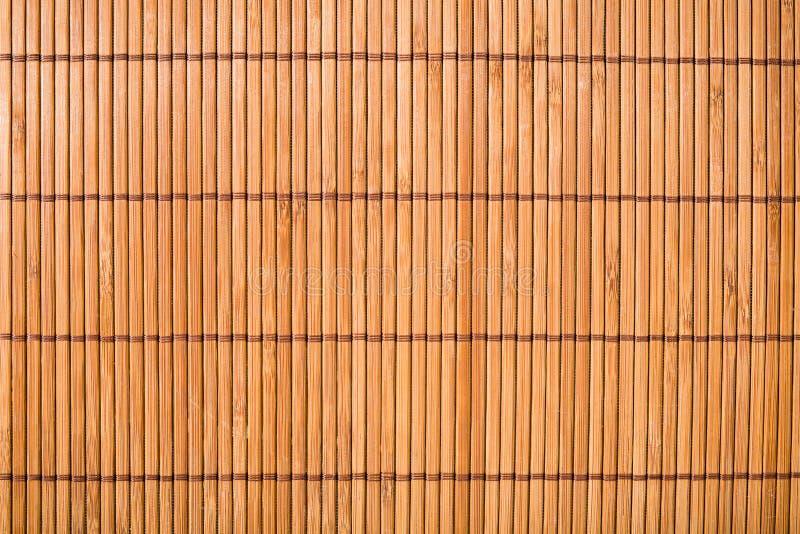 Бамбуковая текстура циновки стоковые изображения