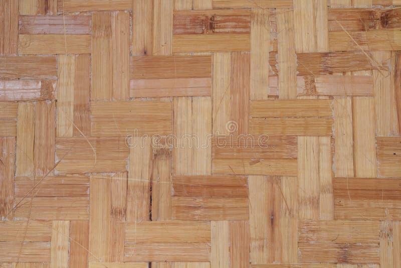Бамбуковый настил стоковое фото