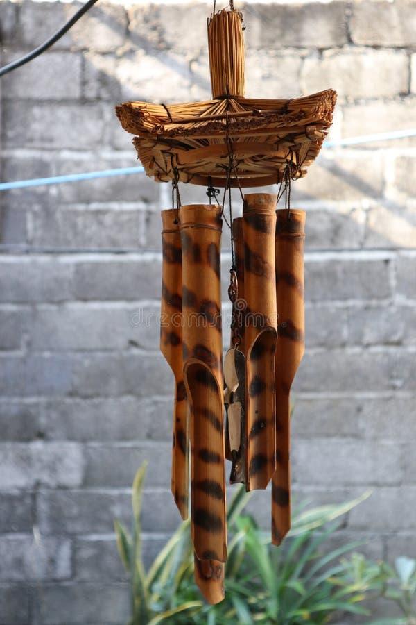 Бамбуковый перезвон ветра стоковые изображения